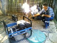 сварочные работы бензогенератором