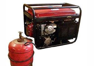 Как выбрать газовый бытовой генератор