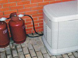 топливо для газовых генераторов