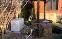 Газовый генератор на улице подключение