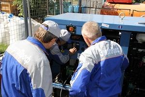 Ремонт дизельного генератора