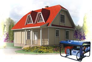 Как выбрать бензогенератор для загородного дома