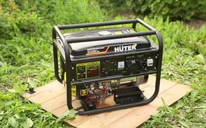 Бензиновые генераторы Huter