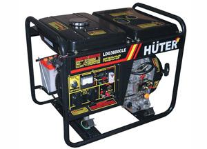 Дизельные генераторы Huter