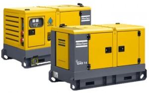 Дизельные генераторы в корпусе с защитой от шума