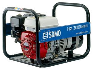 Бензиновые генераторы SDMO и электростанции