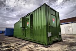 Наружное устройство электростанций в контейнере