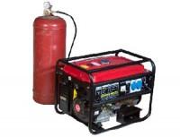 генераторы на газе природном, бытовом фото